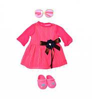Кукольный наряд Limo Toy, платье, очки, обувь, 905