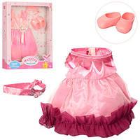 Кукольный наряд, обувь, платье, 2 вида, M3841-UA