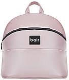 Универсальная детская коляска Bair Crystal 100% кожа BC-02 розовый перламутр - черный, фото 8