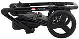 Универсальная детская коляска  Bair Crystal 100% кожа BC-31 серебро перламутр - черный, фото 10