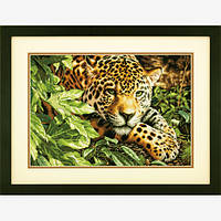Dimensions Набор для вышивки крестом Отдыхающий леопард Leopard is reposel 35300