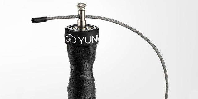 Скакалка скоростная Xiaomi Yunmai Sports Jump Rope Standart Version, Черная, YMHR-P702