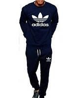 """Спортивный костюм мужской темно-синий Адидас """"Adidas"""""""