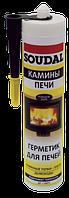Герметик для печей высокотемпературный Soudal (1500 С) 300мл