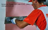 Нанесение защитного слоя по газобетону лёгким-мокрым способом без использования теплоизоляции.