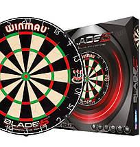 Фирменный набор для игры в дартс Winmau Англия с дротиками, фото 2