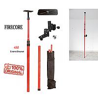 АКЦИЯ! УСИЛЕННАЯ Распорная ШТАНГА для лазерного уровня 4м Firecore резьба 1/4 и 5/8 Оригинал!