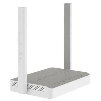 ADSL модем KEENETIC DSL KN-2010 (N300, 1xRj-11, 4*LAN, 1*USB, 2 антенны по 5 дБи)