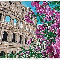Картина по номерам Городской пейзаж Колизей 40*40см (KHO3522)