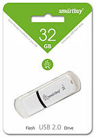 USB флеш-накопитель Smart Buy Paean Series White 32 Gb