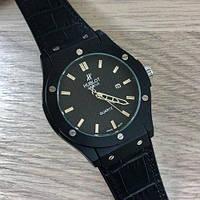 Hublot Big Bang Leather 882888 Black