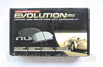 Задние колодки Ford Edge USA Power Stop Z17 Evolution Clean Ride Ceramic для всех комплектаций