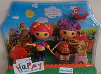 Кукла Лалалупси Lalaloopsy набор с питомцами