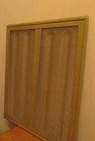 6-ти секционная металлическая решетка