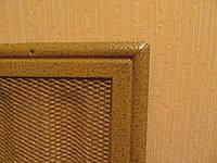 7-ми секционная металлическая решетка