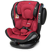 Автокресло детское El Camino ME 1045 ISOFIX EVOLUTION 360 Royal Red