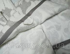 Полотенце жаккард Nanette серое, фото 2