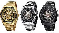 Водонепроницаемые мужские классические часы Winner TM340 с автоподзаводом (тех пакет)
