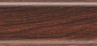 168 - Дуб тасмания Плинтус напольный 56 мм с кабель-каналом Rico Leo