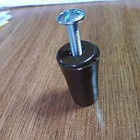 Ручка стопор коричневая