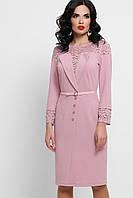 Кружевное нарядное платье прямое