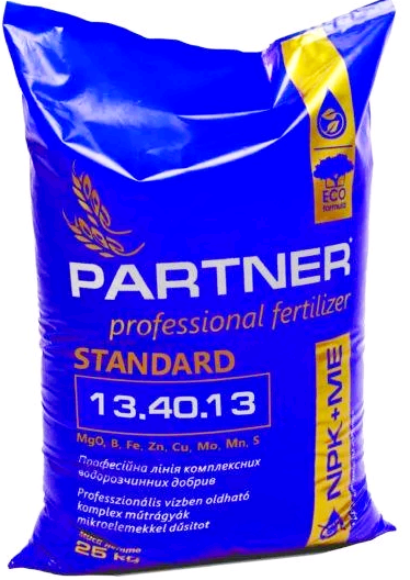 Комплексное удобрение Партнер (Partner Standart) 13.40.13 + ME, 25 кг