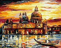 Картина по номерам 40*50см. Золотое небо Венеции GX6753 Brushme