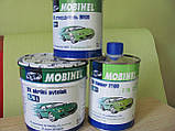 Акрилова автофарба MOBIHEL Біла № 240 (0,75 л) + затверджувач 9900 0,375 л, фото 2