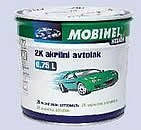 Акрилова автофарба MOBIHEL Біла № 240 (0,75 л) + затверджувач 9900 0,375 л, фото 5