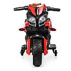 Детский мотоцикл BMW M 3832EL-2-3 черно-красный, фото 3