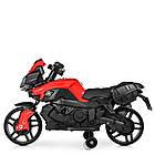 Детский мотоцикл BMW M 3832EL-2-3 черно-красный, фото 5