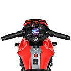 Детский мотоцикл BMW M 3832EL-2-3 черно-красный, фото 6
