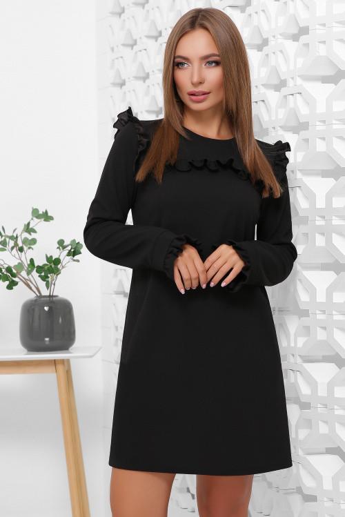 Платье 1845 черный и еще четыре цвета