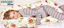 Подушка Для Беременных и Кормления Ultra Exclusive, Наволочка (на выбор) в комплекте