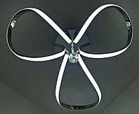Люстра потолочная LED (20х50х50 см.) Хром или золото YR-9700/3