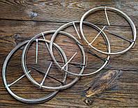 Нержавейка 0.2 мм - 20 метров, проволока для рукоделия цвет серебро, для  бисера