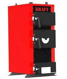 Котел твердотопливный Kraft серия E 20 кВт. Бесплатная доставка!