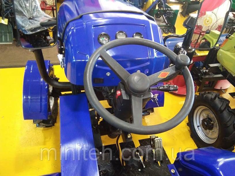 Мототрактор Forte MT-181T LUX (фреза 1,2 м, синій)