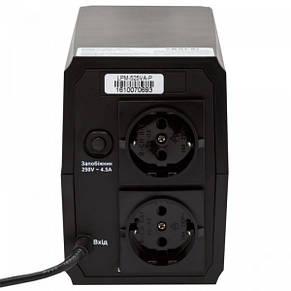 ИБП LogicPower LPM-525VA-P,Lin.int., AVR, 2 x евро, пластик, фото 2