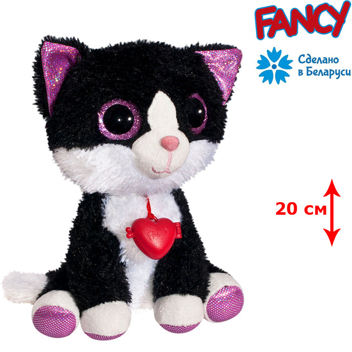 Мягкая игрушка котенок глазастик Fancy (KGL0\S)