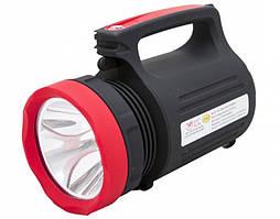 Фонарик YJ 2895 2w+22 led компактный с подсветкой