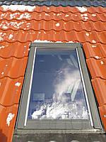 Мансардне вікно OptiLight 78x118 з коміром,Мансардное окно OptiLight 78x118 с воротником
