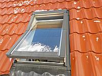 Кровельное Окно OptiLight 78x118 с воротником, Мансардное окно OptiLight 78x118 с воротником, фото 1