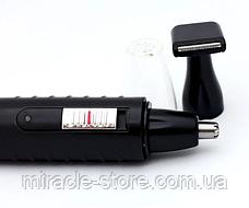 Триммер для бороди, електробритва, стайллер,GM 3003 2в1, фото 3