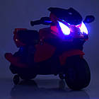 Детский мотоцикл M 4082-3 красный, фото 5