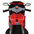 Детский мотоцикл M 4082-3 красный, фото 4