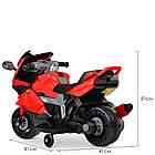 Детский мотоцикл M 4082-3 красный, фото 6