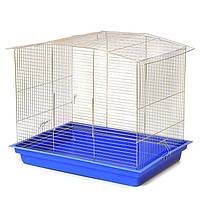"""Клетка для грызунов """"Комби"""" (565х400х480) цинк, фото 1"""