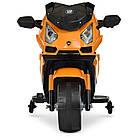 Детский мотоцикл M 4082-7 оранжевый, фото 3