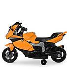 Детский мотоцикл M 4082-7 оранжевый, фото 4